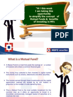 Mutual Fund Simplified
