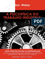 Psicologia Do Trabalho Industrial - Max Weber