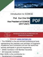 Presentasi Hatti 2017-11-07 03. Prof. Eun Chul Shin ... Introduction to ISSMGE