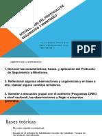 Multidisciplinario Observaciones Finales al protocolo del PROGRAMA CREO