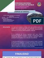 Reserva de Mineral