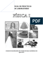 Manual de Practicas de Laboratorio Fisica I