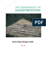 Rock Slope Design Guide