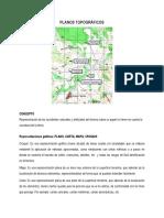 3 Plano Topográfico Mediciones y Curvas de Nivel