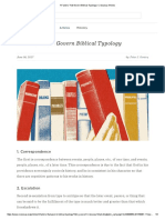 4 Factors That Govern Biblical Typology _ Crossway Articles