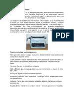 Que Es Máquina de Escribir