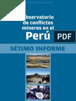 Observatorio de Conflictos Mineros_setimo_informe