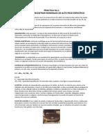 Plato Para Concentrar Minerales de Alto Peso Específico