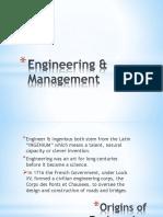 Engineering & Management Report