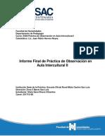 Usac Informe Intercultural II