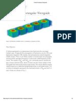 Hollow Rectangular Waveguide