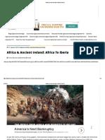 Africa & Ancient Ireland_ Africa to Iberia