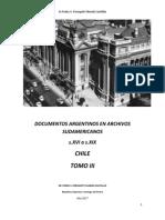 Documentos Argentinos en Archivos Sudamericanos- Chile Tomo III