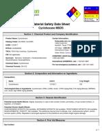 Cyclohexande MSDS.pdf