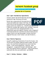 68 Important Scenarios for St 5 Practice