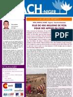 Niger - Newsletter nº 4 septiembre 2010
