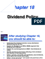 Ch18devident Policy