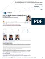 Key Changes in the Consolidated FDI Policy of 2016 - Government, Public Sector - India