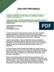 Jocelem Mastrodi Salgado - Câncer pode ser prevenido - nutrição - prevenção