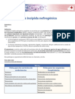 Diabetes Insipida Nefrogenica CONGENTIA