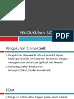 Pengukuran biomekanik