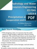 Hwre Lec4 9e Precipitation