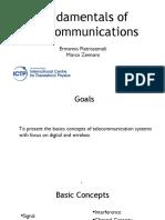 Fundamentals of Telecommunications 1