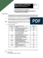 Punjab PSC Recruitment Details