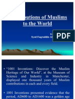 Contributions of Muslims to the World