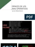 Interfaces de Los Sistema Opetivos