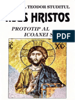 Sfântul Teodor Studitul - Iisus Hristos - Prototip Al Icoanei Sale