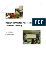 E-book Designing Written Forms of Assessment