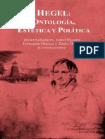 Hegel Ontología Estética y Política