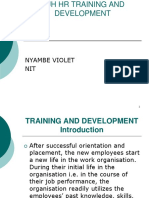 Hr Training and Development Bhrm Nit