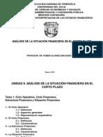 Análisis de La Situación Financiera en El Corto Plazo