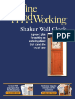 Free Plan Shaker Wall Clock Revised