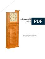 Hancock Shaker Clock
