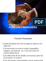 La Funcion Financiera