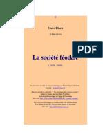 Bloch M. - La société féodale - 2005
