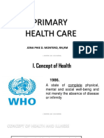 Primary Health Care 1