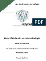 Microscopie Électronique Pour La Bilogie