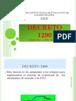 Decreto 1290 Exposicion Para Profesores