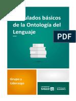 3. Postulados Básicos de La Ontología Del Lenguaje