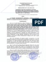 Resolución de sumario a Ignacio Velázquez Guachiré