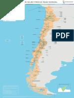 Mapa Sistema Electrico Nacional