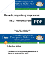 Neutropenia Febril 2006