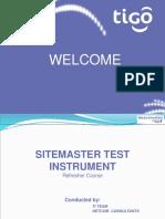 Site Master Training