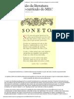 Mídia Sem Máscara - Sobre a Exclusão Da Literatura Portuguesa Do Currículo Do MEC[1]