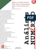 Análisis numérico, José A. Gutiérrez-Miguel Á. Olmos, 1° Ed