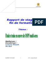 Rapport Stage  - TRI - Etude Et Mise en Œuvre de OSPF Multi-Area